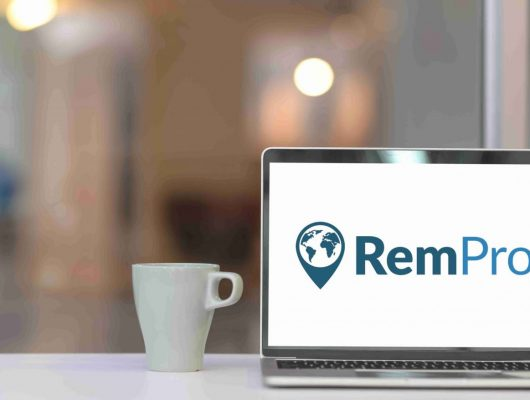 laptop remote work homeoffice new work consulting